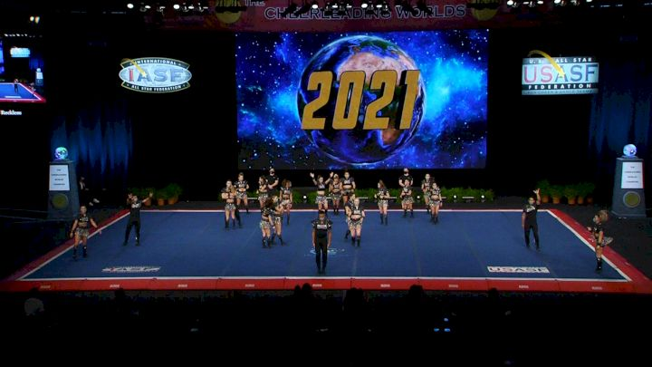 The California All Stars - Camarillo - Reckless [2021 L7 International Open Small Coed Finals] 2021 The Cheerleading Worlds