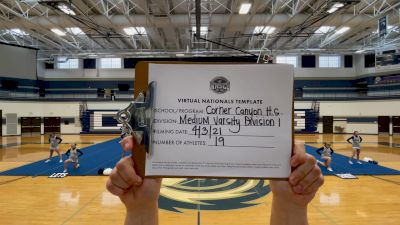 Corner Canyon High School [Virtual Medium Varsity Finals] 2021 UCA National High School Cheerleading Championship