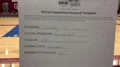 Lewisville High School [Game Day Junior Varsity] 2020 UCA Southwest Virtual Regional