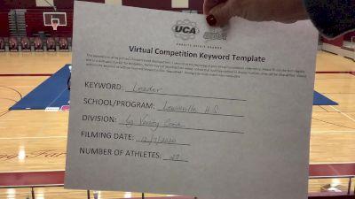 Lewisville High School [Game Day Large Varsity Coed] 2020 UCA Southwest Virtual Regional