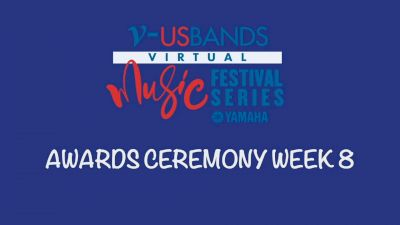 RESULTS: 2021 USBands Virtual Music Festival Series 8 Awards Ceremony