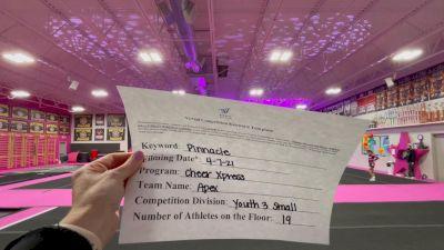 Cheer Xpress - APEX [L3 Youth] 2021 The Regional Summit Virtual Championships