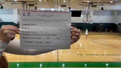 Cardinal Gibbons High School [Virtual Medium Varsity - Pom Finals] 2021 NDA High School National Championship