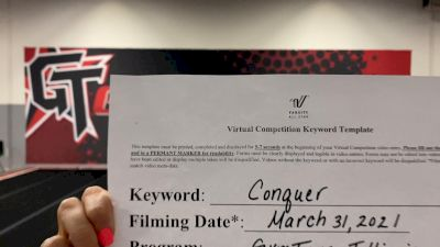 Gymtyme Illinois - Shadow [L4 Senior Coed] 2021 Varsity All Star Winter Virtual Competition Series: Event V
