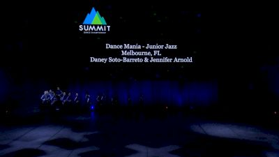 Dance Mania - Junior Jazz [2021 Junior Jazz - Large Semis] 2021 The Dance Summit
