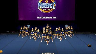 Live Oak Senior Rec [2021 Trad Rec Aff 14Y Finals] 2021 UCA National High School Cheerleading Championship