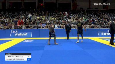 JOSE MATHIAS MACEDO DE LIRA LUNA vs RODRIGO GORTARI BARBOSA 2021 World IBJJF Jiu-Jitsu No-Gi Championship