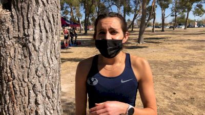 BYU's Whittni Orton Does A Workout On XC Course Before Her Teammates Go On To Win Conference