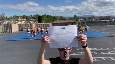 Esperanza High School [High School - Band Chant - Cheer] 2021USA Virtual Spirit Regional #2 and All Star Dance Regional #1