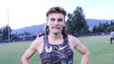 Craig Engels Drops Huge 1:44 800m PB In LA