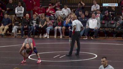 197lbs Match: Jordan Pagano, Rutgers vs Justin Hopman, Centenary
