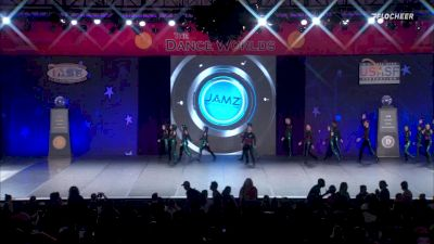 A Look Back At The Dance Worlds 2019 - Open Coed Jazz Medalists