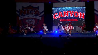 Canyon High School - Cougars [2020 Game Day Small Varsity Finals] 2020 NCA High School Nationals