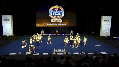 Brawley Union High School [2020 Large Varsity Coed Non Tumbling Semis] 2020 UCA National High School Cheerleading Championship