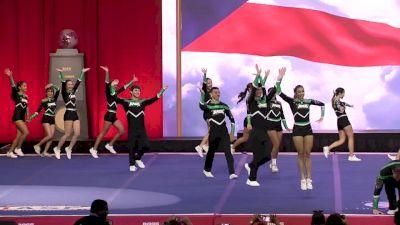 Puerto Rico X-Street - Rage (Puerto Rico) [2019 L6 International Open Large Coed Finals] 2019 The Cheerleading Worlds