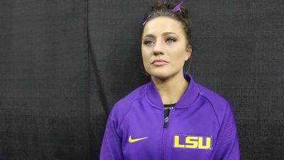 Interview: Lexie Priessman, LSU - 2019 NCAA Championships