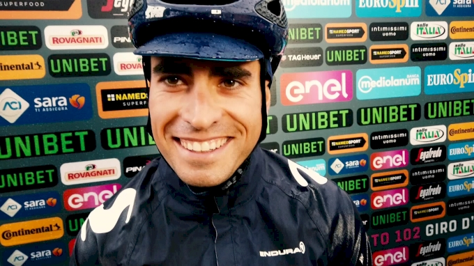Mikel Landa After Stage 5 Of The Giro