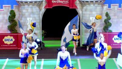 Live Oak High School [2020 Super Game Day Division II Semis] 2020 UCA National High School Cheerleading Championship