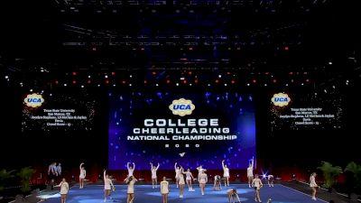 Texas State University [2020 All Girl Division IA Semis] 2020 UCA & UDA College Nationals
