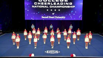 Sacred Heart University [2020 All Girl Division I Finals] 2020 UCA & UDA College Nationals