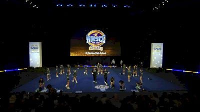 El Capitan High School [2020 Large Varsity Coed Non Tumbling Semis] 2020 UCA National High School Cheerleading Championship