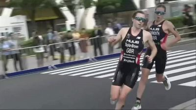 Double disqualification for British triathletes in Tokyo