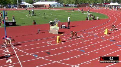 Women's 4x100m Relay, Final