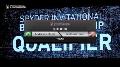 Anderson Munis vs Matheus Diniz 2019 Spyder BJJ Qualifier
