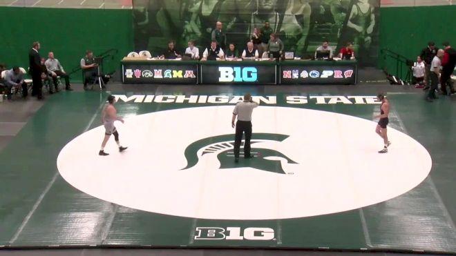 141lbs Match - JoJo Aragona, Rutgers vs Jaden Enriquez, Michigan State