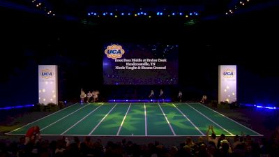 Knox Doss Middle at Drakes Creek [2020 Junior High Non Tumbling Game Day Finals] 2020 UCA National High School Cheerleading Championship