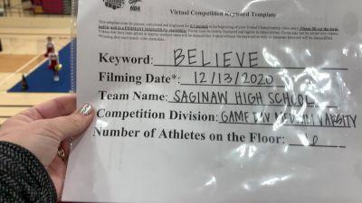 Saginaw High School [Game Day Medium Varsity] 2020 NCA December Virtual Championship