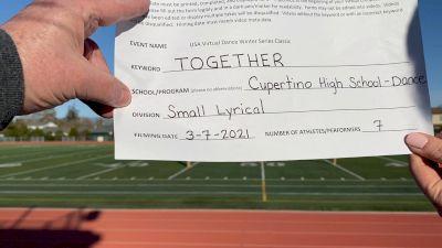 Cupertino High School [Lyrical Varsity - Small] 2021 USA Virtual Dance Winter Classic