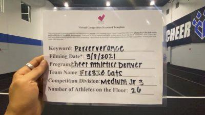 Cheer Athletics - Denver - Fre3zeCAts [L3 Junior - Medium] 2021 USA All Star Virtual Championships