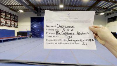 The California All Stars - TNT [L6 International Open Coed - NT] 2021 Spirit Sports: Virtual Duel in the Desert