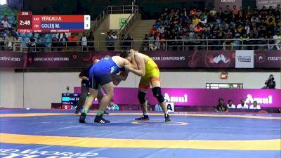 Mojtaba Goleij (IRI) vs Alisher Yergali (KAZ)