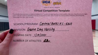 Central Bucks High School-East [Game Day Super Varsity] 2021 UCA January Virtual Challenge