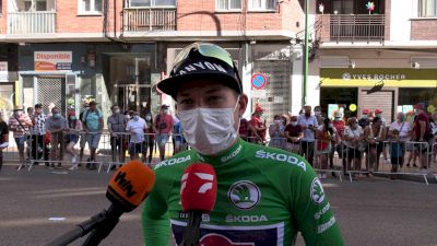 Jasper Philipsen: 'Sprinting Is About Timing, Sometimes It Works Out' Stage 2 - 2021 Vuelta A España