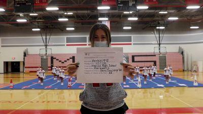 Marcus High School [Game Day Large Varsity] 2020 NCA November Virtual Championship