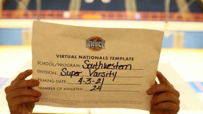 Southwestern High School [Virtual Super Varsity Semi Finals] 2021 UCA National High School Cheerleading Championship