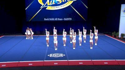 Rock Solid All Stars - SAINTS [2021 L2 Senior Day 2] 2021 UCA International All Star Championship
