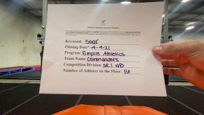 Empire Athletics - Senior Commanders [L1 Senior - Non-Building] 2021 The Regional Summit Virtual Championships