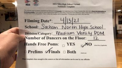 Sachem North High School [Virtual Medium Varsity - Pom Finals] 2021 NDA National Championship