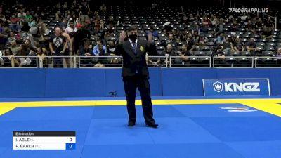 ISSA ABLE vs PAUL BARCH 2021 World IBJJF Jiu-Jitsu No-Gi Championship