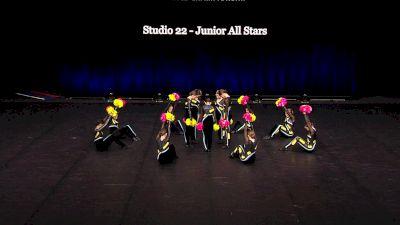 Studio 22 - Junior All Stars [2021 Junior Pom Finals] 2021 The Dance Summit