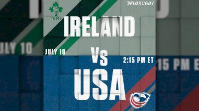 USA Set To Take On Ireland