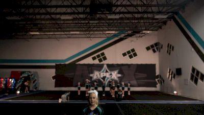 Apex Cheer - Metallic [L1 Youth - Novice] 2021 NCA All-Star Virtual National Championship