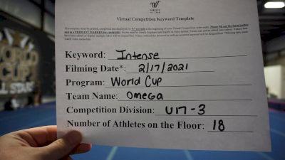 World Cup - Omega [L3 - U17] 2021 Coastal at the Capitol Virtual National Championship