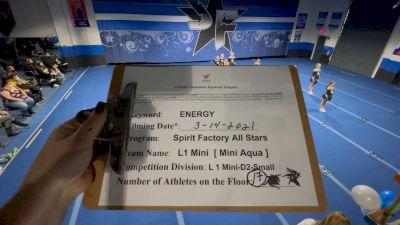 Spirit Factory - Aqua [L1 Mini - D2 - Small] 2021 Beast of The East Virtual Championship