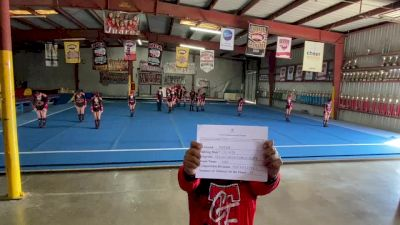 Texas Cheer Force Elite Fire - Fire [L1 Youth - D2 - Small] Varsity All Star Virtual Competition Series: Event V