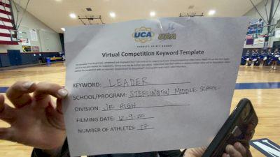 Sterlington Middle School [Junior High Game Day] 2020 UCA Louisiana Virtual Regional
